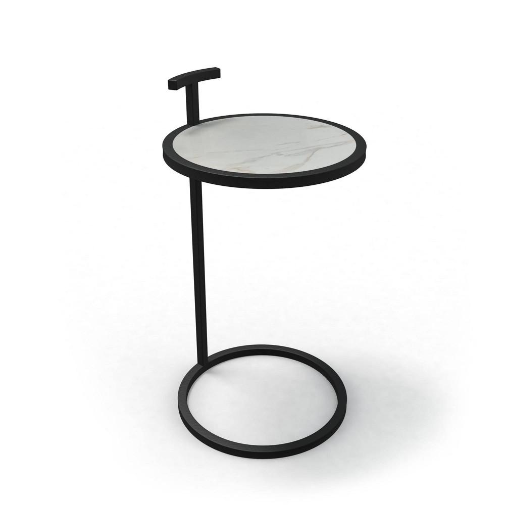 Image of Katrine Large Camden Side Table Black - Jamesdar
