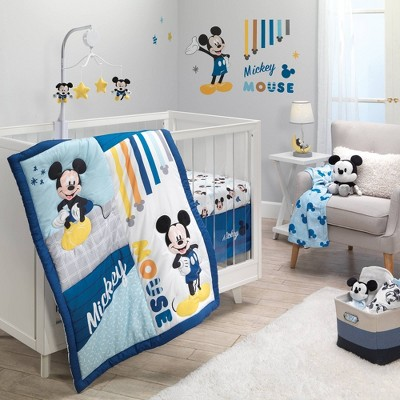 Bedtime Originals Forever Mickey Mouse Crib Bedding Set - 3pc