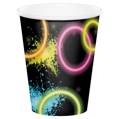 8ct Glow Party Cups