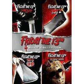 Friday The 13th Deluxe Edition Four Pack (2017 Release)  (DVD)