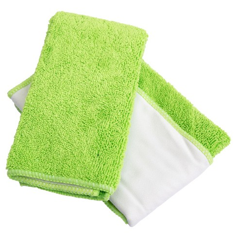 2 Pack Therapy Stainless Steel Microfiber Cloth Great Towel For Cleaning In Short Supply