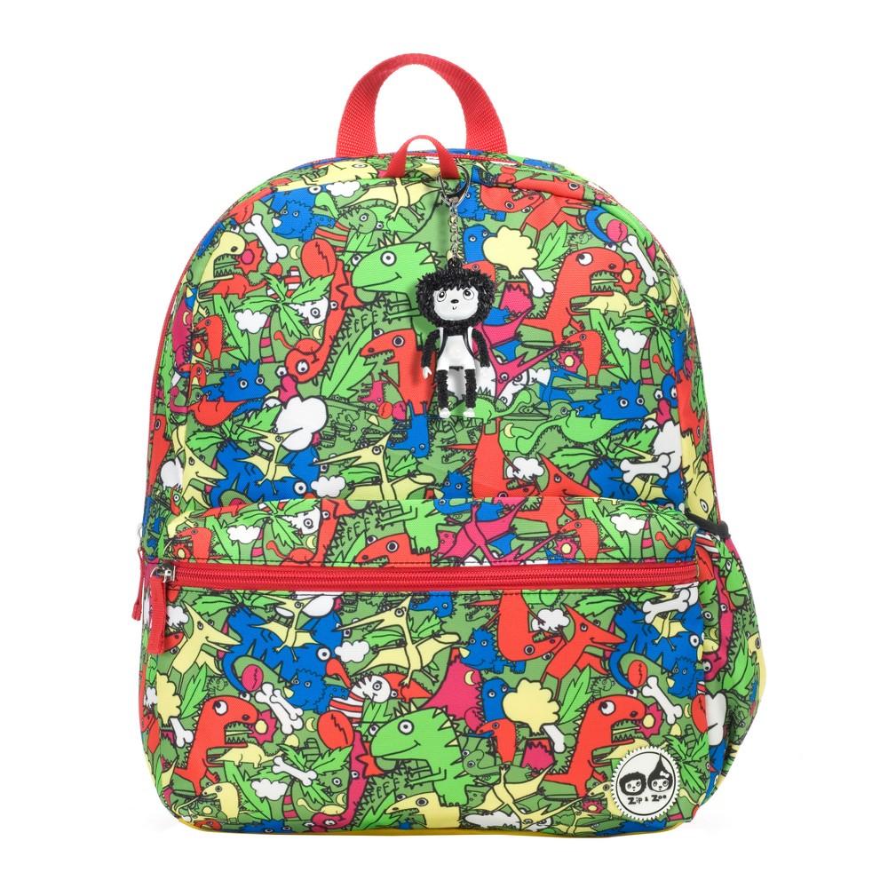 "Image of ""Zip & Zoe Junior 15"""" Kids' Backpack - Dino Multi, Kids Unisex, Size: Small, MultiColored"""