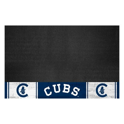 """MLB Chicago Cubs 1911 Retro Collection 26""""x42"""" Grill Mat"""