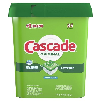 Cascade ActionPacs Fresh Scent Dishwasher Detergent