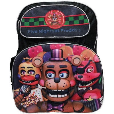 Accessory Innovations Company Five Nights at Freddy's 3D 16 Inch Backpack