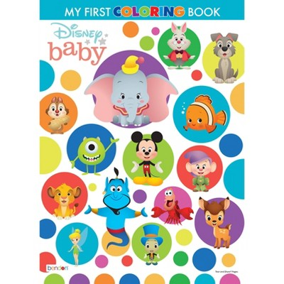 Disney Baby My 1st Coloring Book