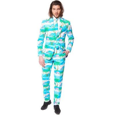 Oppo Suits Flaminguy Suit Adult Costume