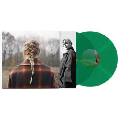 Taylor Swift - evermore (Transparent Green 2 LP) (EXPLICIT LYRICS) (Vinyl)
