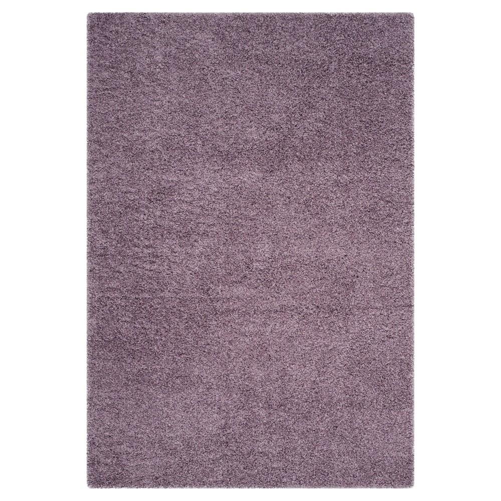 Purple Solid Loomed Area Rug - (8'x10') - Safavieh