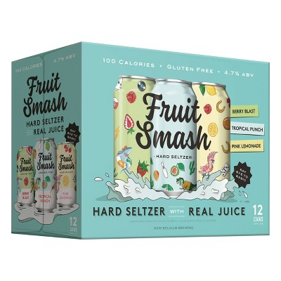Fruit Smash Hard Seltzer Variety Pack - 12pk/12 fl oz Cans