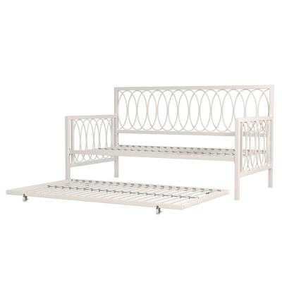 Twin Sized Naomi Complete Daybed with Trundle White - Hillsdale Furniture