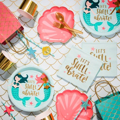 Mermaid Birthday Party Collection - Spritz™   Target 8f126b4d8