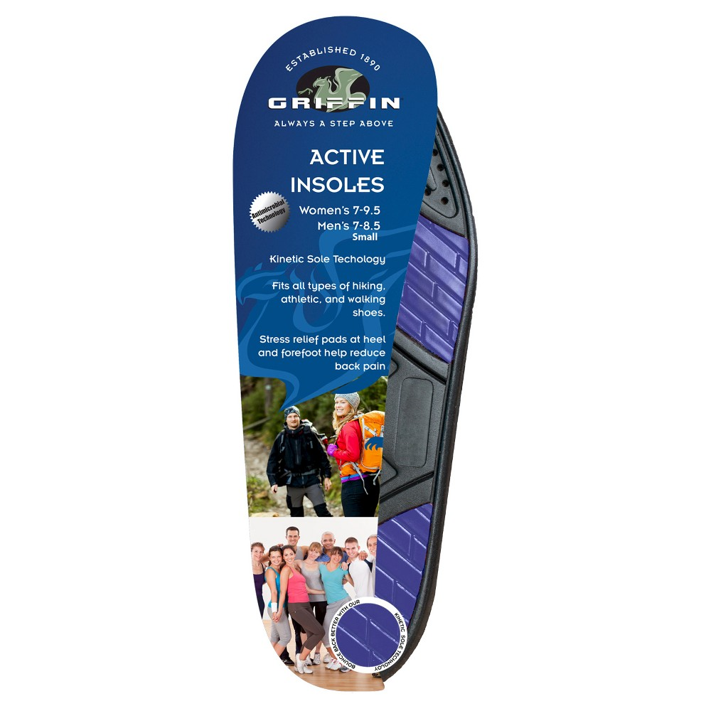 Griffin Footwear Cushions Active Insoles - Multi-Colored S