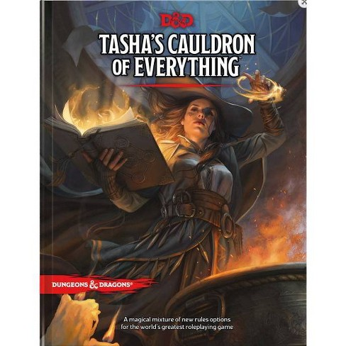Tasha's Cauldron of Everything (D&d Rules Expansion) (Dungeons & Dragons) - (Hardcover) - image 1 of 1