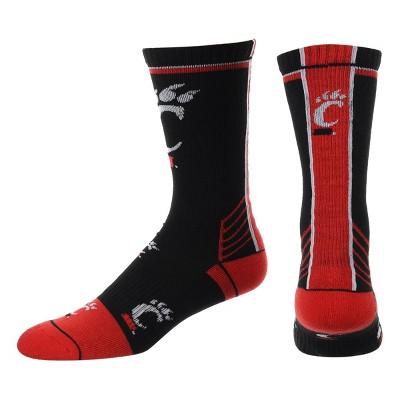 NCAA Cincinnati Bearcats Tailgate Crew Socks 10-13