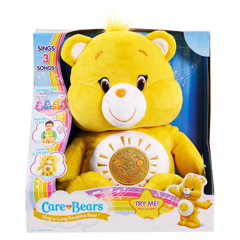 Care Bears Sing-a-Long Bears Funshine
