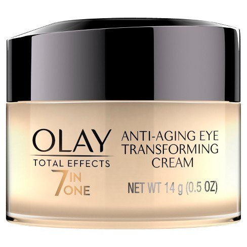 Unscented Olay Total Effects Anti-Aging Eye Cream Treatment - 0.5oz   Target c01a95bc2390