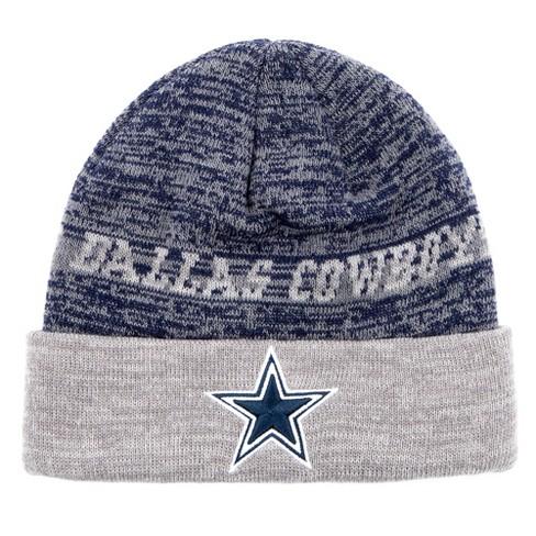 NFL Youth Dallas Cowboys Deceiver Beanie Knit hat 280f3162c7e