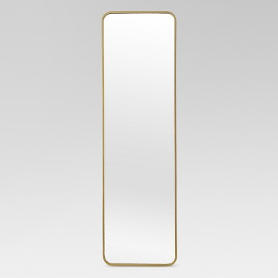 Over-the-Door Mirror Metal Brass - Project 62™