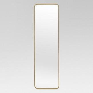 Over-the-Door Mirror Metal Brass - Project 62™