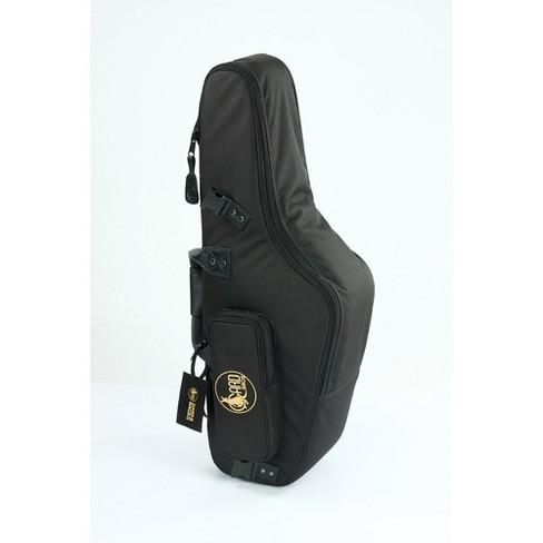 Gard Mid Suspension Em Alto Saxophone Gig Bag 104 Msk Black Synthetic W Leather Trim