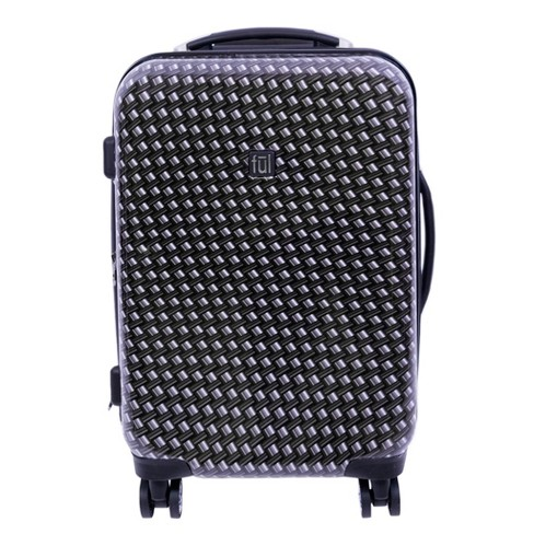 """FUL 20"""" Hardside Expandable Spinner Suitcase - Metal Chain Swirl - image 1 of 4"""