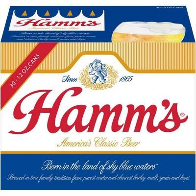 Hamm's Premium Beer - 30pk/12 fl oz Cans