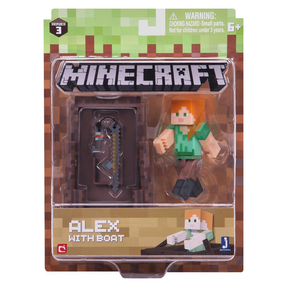 Minecraft Alex Fishing - Core Figure Pack
