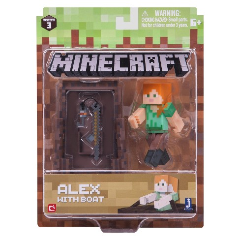 Minecraft® Alex Fishing - Core Figure Pack - image 1 of 1