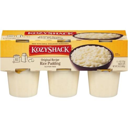 Kozy Shack Original Rice Pudding - 6pk/4oz Cups - image 1 of 4