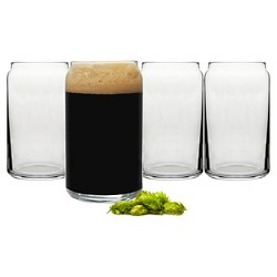 Cathy's Concepts 16 oz. Craft Beer Can Glasses (Set of 4)