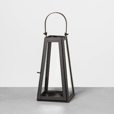 Metal Lantern Black - Hearth & Hand™ with Magnolia