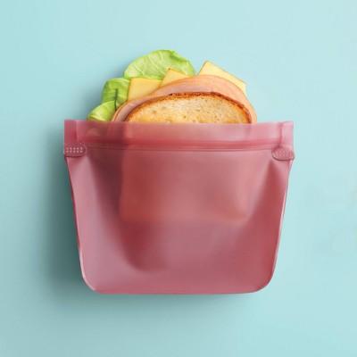 2pk PEVA Reusable Sandwich Bag Coral Dream - Room Essentials™