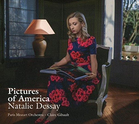 Natalie Dessay - Pictures Of America (CD) - image 1 of 1