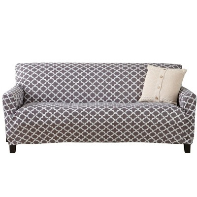 Great Bay Home Printed Twill Stretch Sofa Slipcover