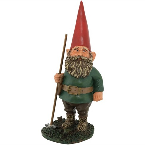 "13"" H Woody Jr. the Garden Gnome - Sunnydaze Decor - image 1 of 4"
