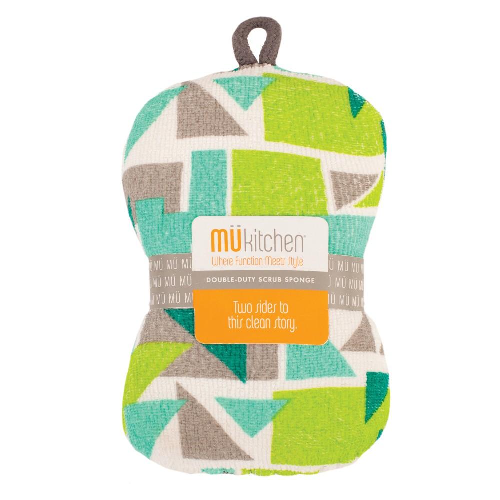 Scrub Sponge Set of 2 - Mu Kitchen, Multi-Colored