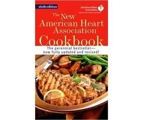 New American Heart Association Cookbook (Paperback) - image 1 of 1