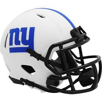 NFL New York Giants Lunar Eclipse Mini Helmet