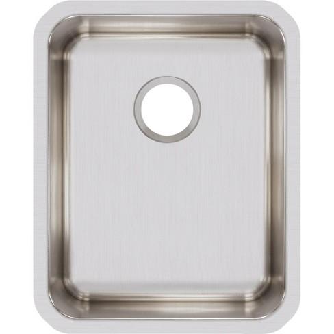 Elkay ELUH1418 Lustertone Stainless Steel 16-1/2\