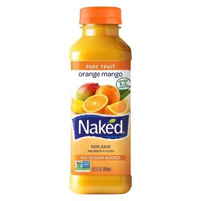 Naked All Natural Orange Mango Juice - 15.2oz