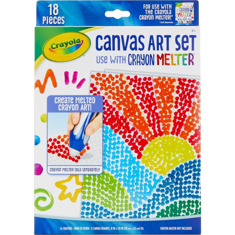 Crayola Crayon Melter Pixel Activity Kit