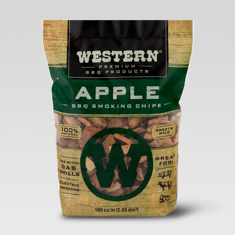 Western Apple Bbq Smoking Chips - 2lbs