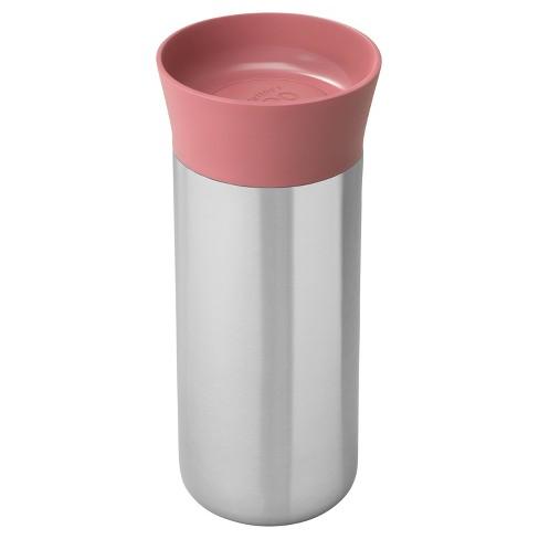 Berghoff Leo 11 16oz 18 10 Stainless Steel Thermal Mug Pink Target