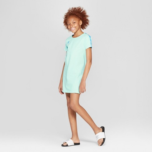6cc2c4e416a Umbro Girls  T-Shirt Dress - Light Blue L   Target