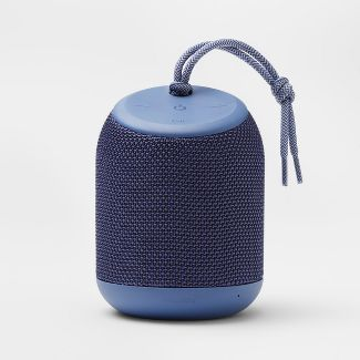 heyday™ Cylinder Portable Bluetooth Speaker With Strap - Blue