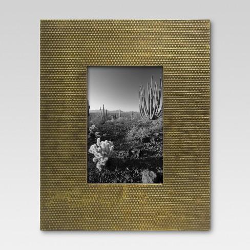 Textured 4x6 Wide Bronze Frame Threshold Target