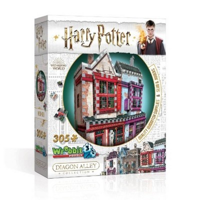 Wrebbit Quality Quidditch Supplies And Slug And Jiggers 3D Puzzle 305pc
