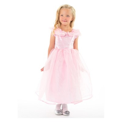 Little Adventures Child's Deluxe Pink Butterfly Princess Dress