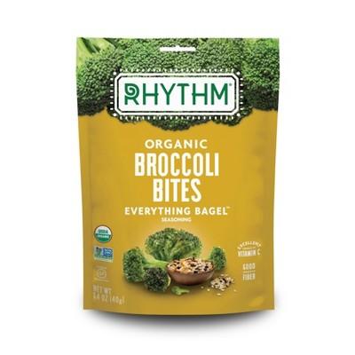 Rhythm Everything Bagel Organic Broccoli Bites - 1.4oz